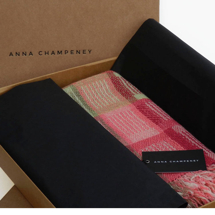 Free International Shipping on scarves and throws until 20 December 2016