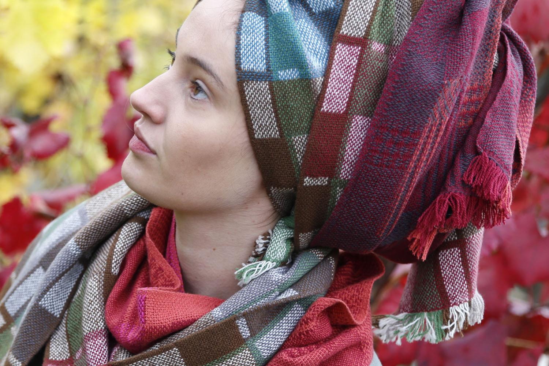 Carmen Miranda scarf pile 1500 x 1000 pix