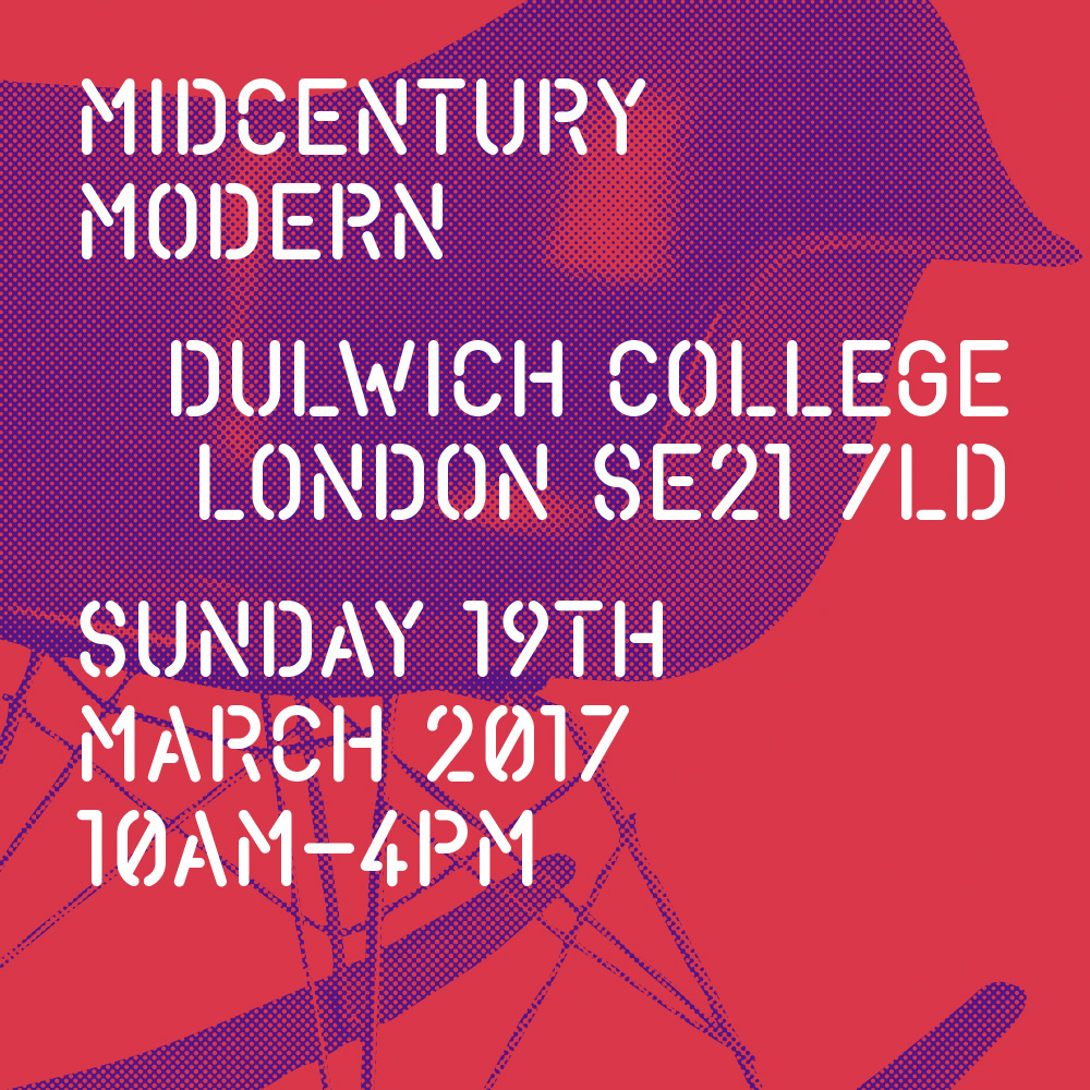 Anna Champeney at MidCentury Modern, Dulwich, London March 19th 2017
