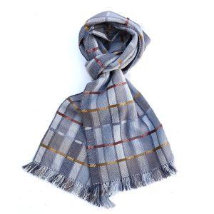 Large H&O madder scarf 190cm 900 pix