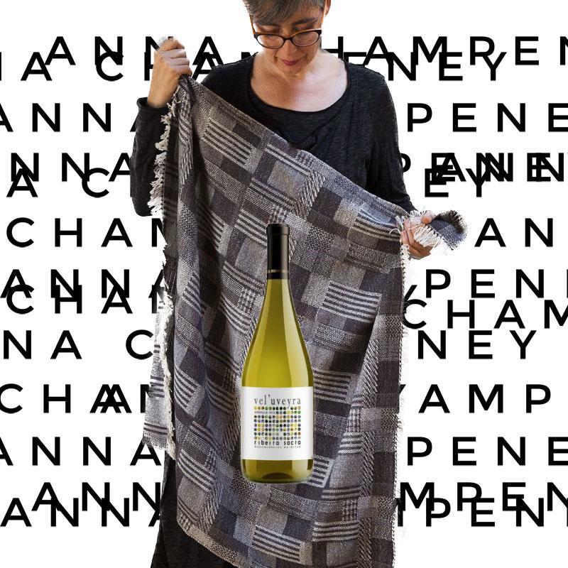 Brindar con nosotros:  Anna Champeney Estudio Textil y La Bodega Ronsel do Sil – abiertos entre el 16 & 17 December 2017